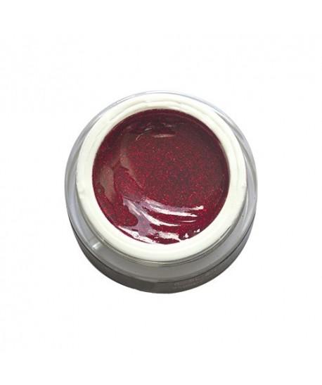 612 Rosso Chiaro Glitterato 7ml  Ego Nails