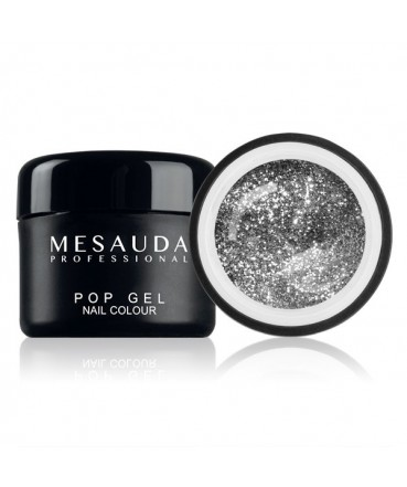 MESAUDA - POP GEL Nail Colour 5ml - Gel UV Colorato - Glitter Rainbow 329035 Mesauda