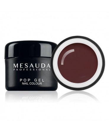 MESAUDA - POP GEL Nail Colour 5ml - Gel UV Colorato - Bordeaux 329084 Mesauda