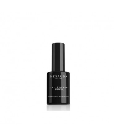 MESAUDA - GEL POLISH Base&Top 5 ml - Base&Finitura per Smalto Gel 336101 Mesauda