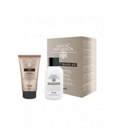 NOOK - Kit da Viaggio Setificante (shampoo 100ml + pak 50ml)  Nook