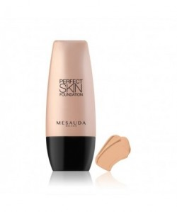 MESAUDA - PERFECT SKIN FOUNDATION  Fondotinta Fluido Lunga Tenuta Almond