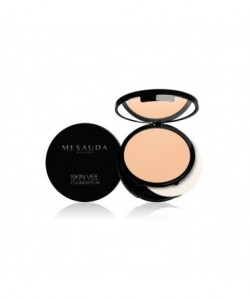 MESAUDA - SKIN VEIL FOUNDATION Fondotinta Compatto Wet&Dry Honey