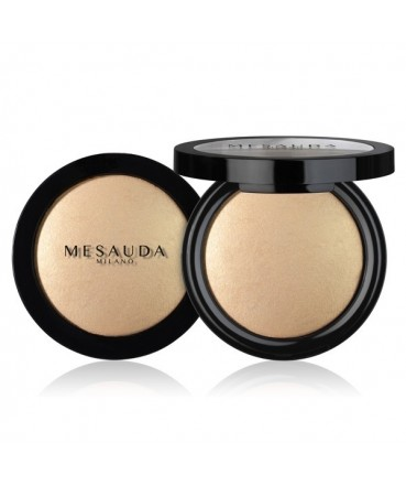MESAUDA - LIGHT'N BRONZE Baked Bronzing Powder Gold Sheen 184100 Mesauda