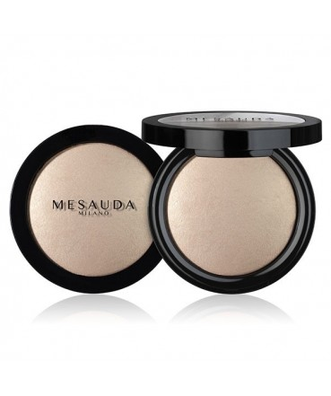 MESAUDA - LIGHT'N BRONZE Baked Bronzing Powder Platinum 184101 Mesauda