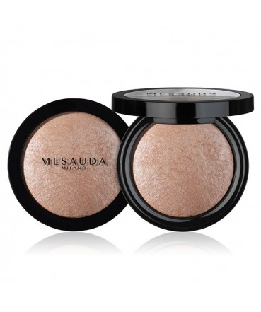 MESAUDA - LIGHT'N BRONZE Baked Bronzing Powder Rose Gold 184102 Mesauda