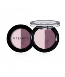 MESAUDA - VIBRANT EYESHADOW Ombretto Compatto Perlato Duo Hit Girl