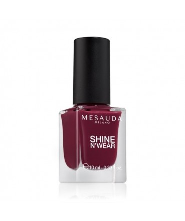 MESAUDA - SHINE N'WEAR FULL 10ml Smalto per Unghie Bordeaux 203202 Mesauda