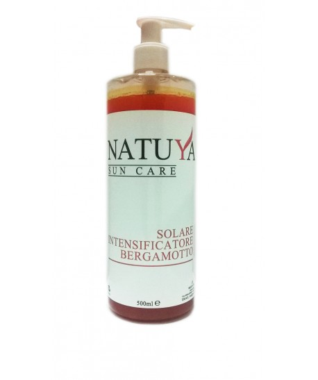Natuya Solare Intensificatore Bergamotto 500ml NAT2 Natuya