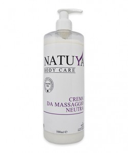 Natuya Crema da massaggio neutra 500ml